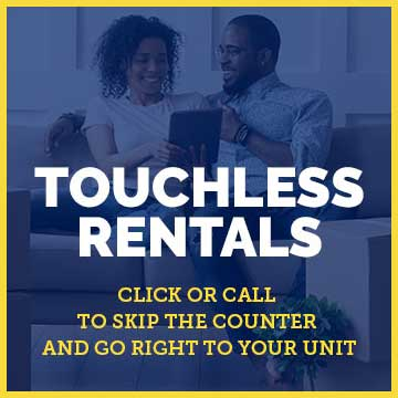 rent online with touchless rentals