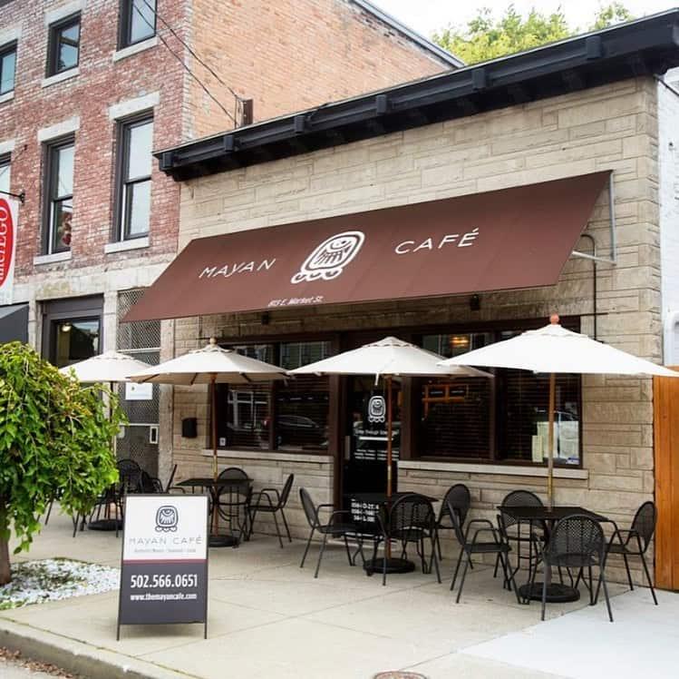 Mayan Cafe Exterior in Louisville