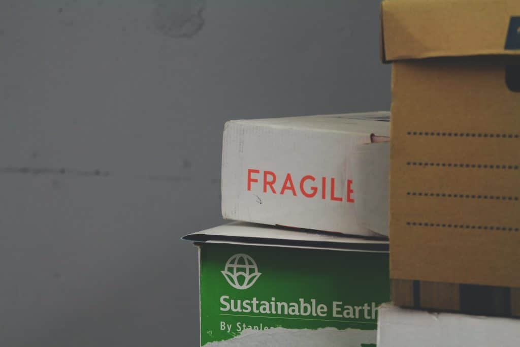 Leave space between box stacks