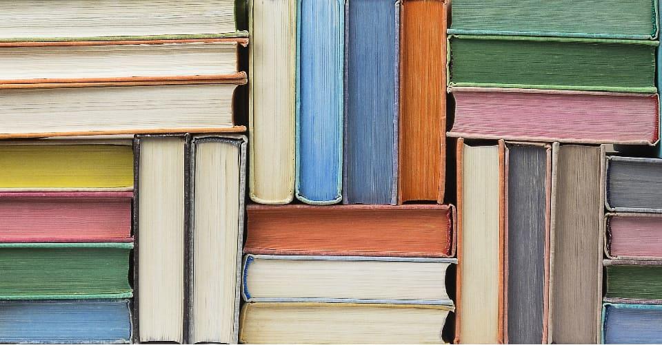 storing books in storage