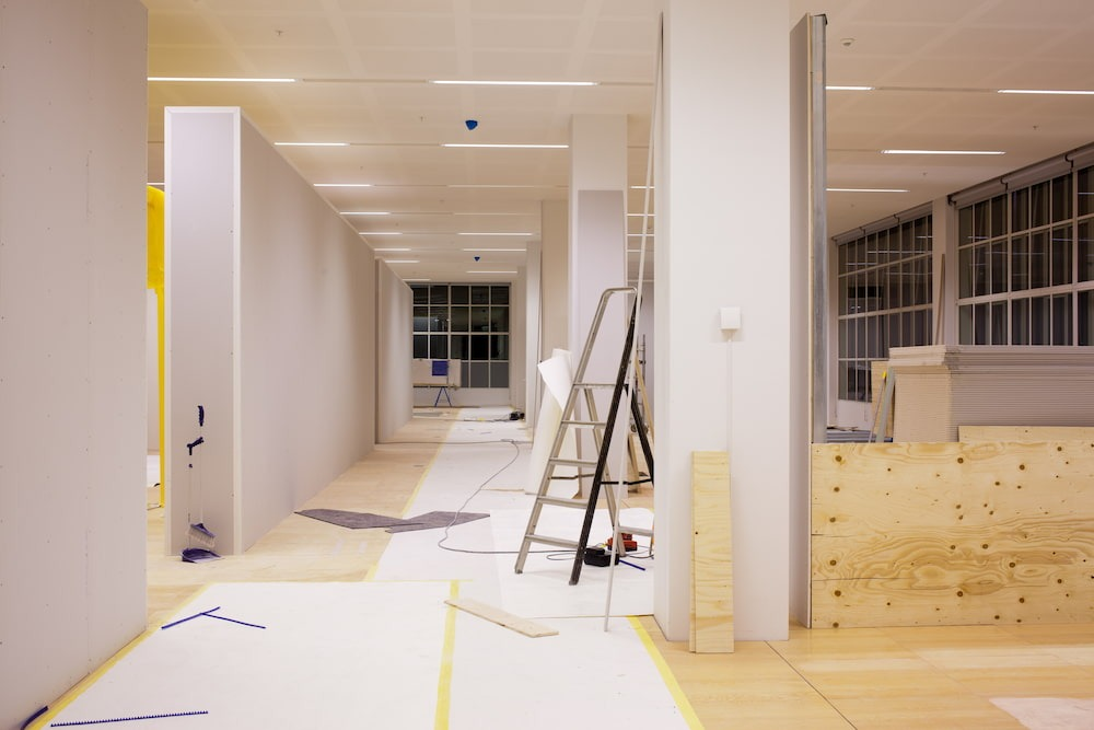business renovation after moving your business to a new location