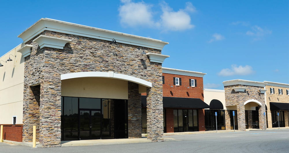 new storefront for a business moving to a new location