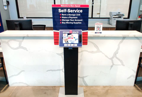 Store Space Self Service Kiosk