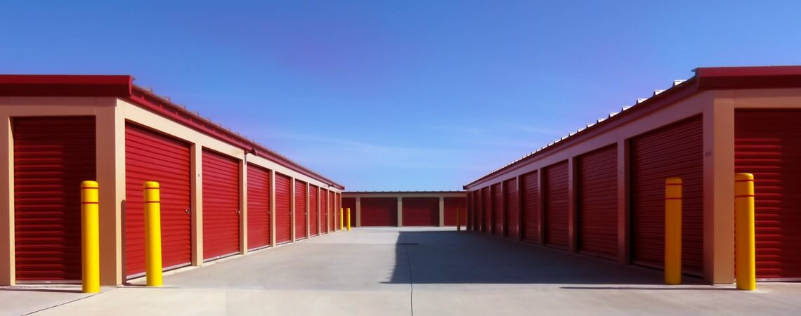 Drive-Up Storage Units at Store Space Self Storage