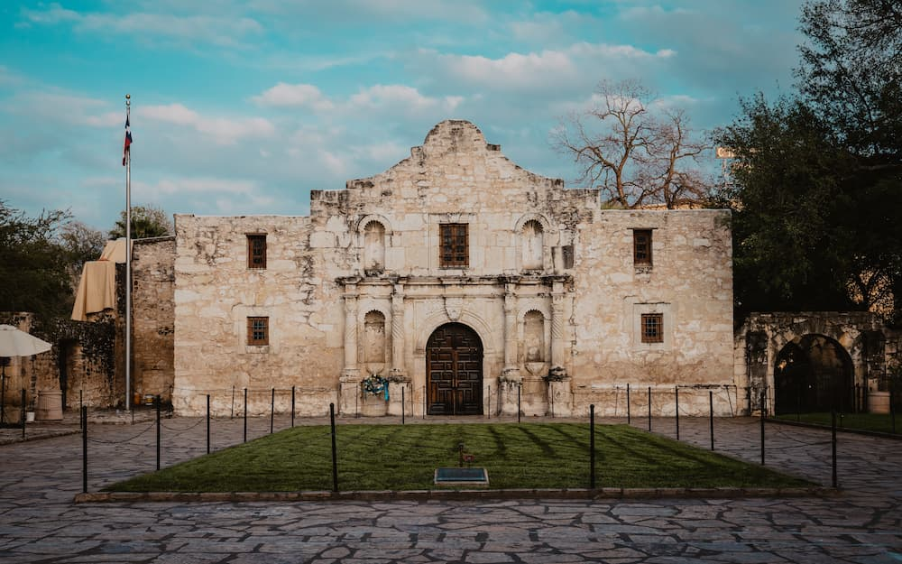 The Alamo in Downtown San Antonio, San Antonio, TX, USA