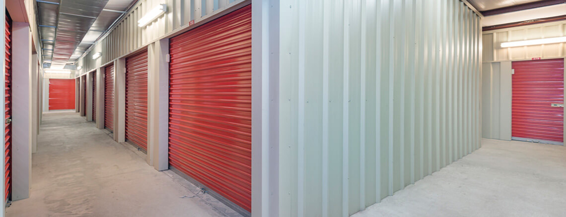 Indoor Storage Units at Store Space Self Storage