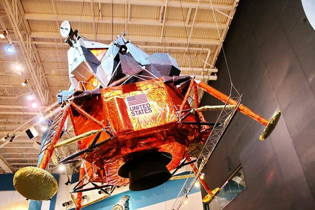 Lunar Module LTA-8 at NASA Space Center in Houston