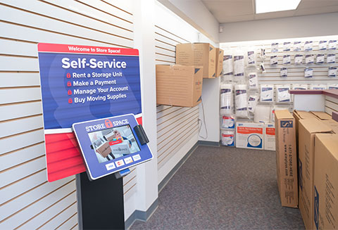 Store Space Self Service Kiosk