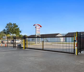 Secure gate for self storage access in Cocoa Florida