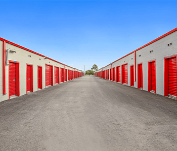 Drive-up storage units with car storage options in Houston