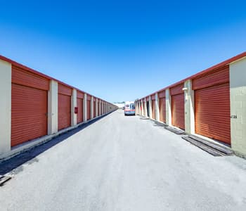Local storage units with drive-up access