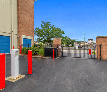 Secure gated entrance for safe access to your storage units