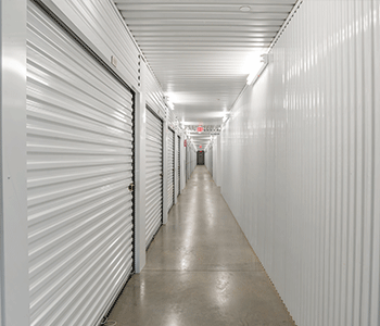 newly built interior storage units in sugar land