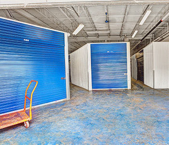 totowa nj inside self storage units and available moving carts