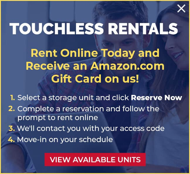 Touchless online rentals